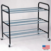 "Blazer Athletics 24-Ball P.E. Storage Rack 40""w x 34-1/2""H x 20-1/2""D"