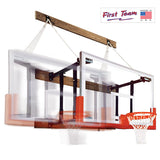First Team FoldaMount46 Victory Folding Wall Mount Basketball Goal