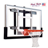 First Team PowerMount Performance Wall Mount Basketball Goal