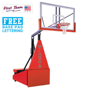First Team Storm Arena Portable Basketball Goal