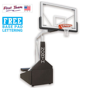 First Team Tempest Triump-ST Portable Basketball Goal