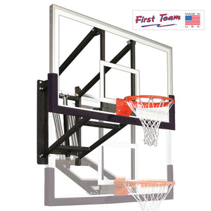 First Team WallMonster Intensity Wall Mount Basketball Goal