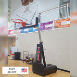 First Team Fury II Portable Basketball Goal