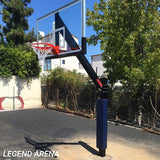 First Team Legend Dynasty Dual Fixed Height Basketball Goal