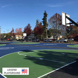 First Team Legend Playground Fixed Height Basketball Goal
