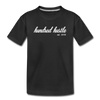 Toddler Cursive Logo Tee - black