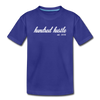 Toddler Cursive Logo Tee - royal blue