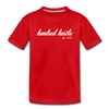 Toddler Cursive Logo Tee - red