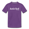 Toddler Cursive Logo Tee - purple