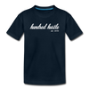 Toddler Cursive Logo Tee - deep navy