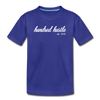 Youth Cursive Premium Tee - royal blue