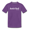 Youth Cursive Premium Tee - purple