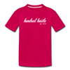 Youth Cursive Premium Tee - dark pink