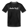 Youth Cursive Premium Tee - charcoal gray