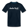 Youth Cursive Premium Tee - deep navy
