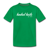 Youth Cursive Premium Tee - kelly green