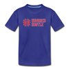 Youth Horizontal Logo Tee - royal blue