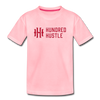 Youth Horizontal Logo Tee - pink