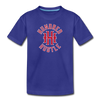 Youth Circle Logo Tee - royal blue