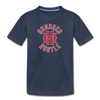 Youth Circle Logo Tee - navy