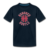 Youth Circle Logo Tee - deep navy