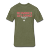 Hundred Hustle Mens No Handouts Dri-Fit Tee - Black/Navy - heather military green