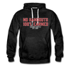 Hundred Hustle No Handouts Mens Hoodie Sweatshirt Black/Navy/Royal Blue/Olive/Charcoal/Heather Grey/ - charcoal gray