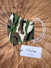 Load image into Gallery viewer, Camouflage Fabric Face Mask - FaceWedge