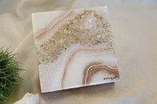 Load image into Gallery viewer, Geode Inspired Micro Crystal Wall Artwork