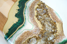 Load image into Gallery viewer, Geode Inspired Slender Charcuterie Board