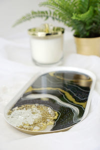 Agate Decorative Tray