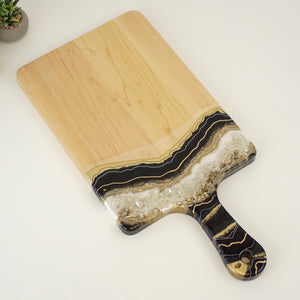 XL Geode Inspired Paddle Charcuterie Board