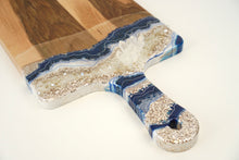 Load image into Gallery viewer, XL Geode Inspired Paddle Charcuterie Board