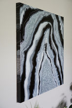 Load image into Gallery viewer, Graphite Wonder - Geode Inspired Wall Artwork