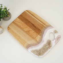 Load image into Gallery viewer, Geode Inspired Palette Charcuterie Board