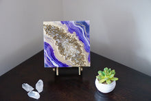 Load image into Gallery viewer, Micro Geode Inspired Artwork