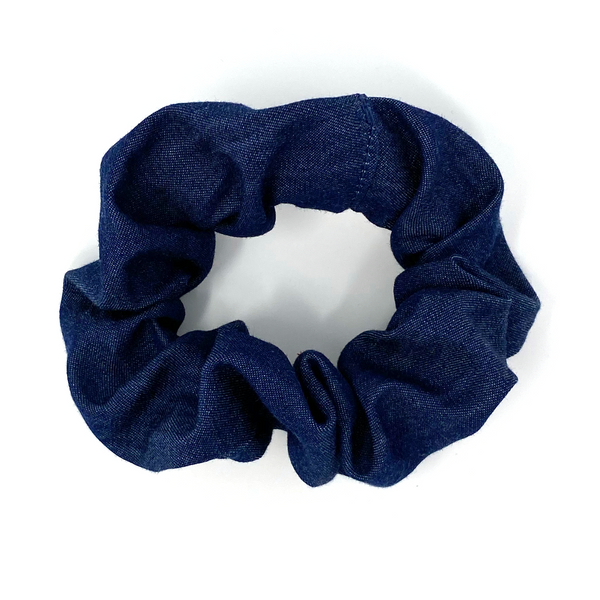 Scrunchie - Blue Denim