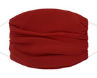 Fashion Mask - Chiffon - Burgundy