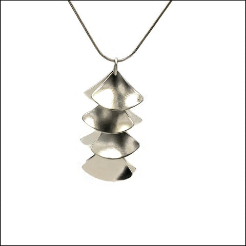 ginkgo leaves pendant small