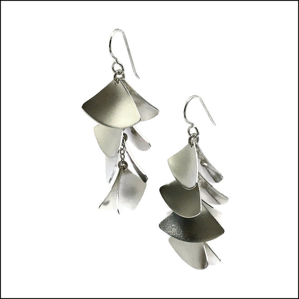 gingko leaves earrings