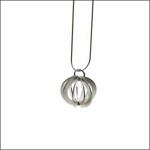 discs sphere pendant - made to order