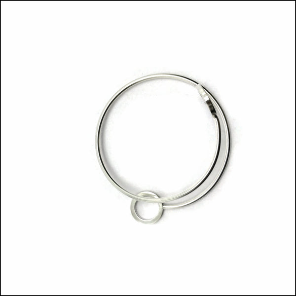 spiral with 2 circles bracelet - made to order