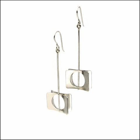 cricles-in-rectangles earrings