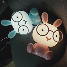 Load image into Gallery viewer, rabbit night lamp