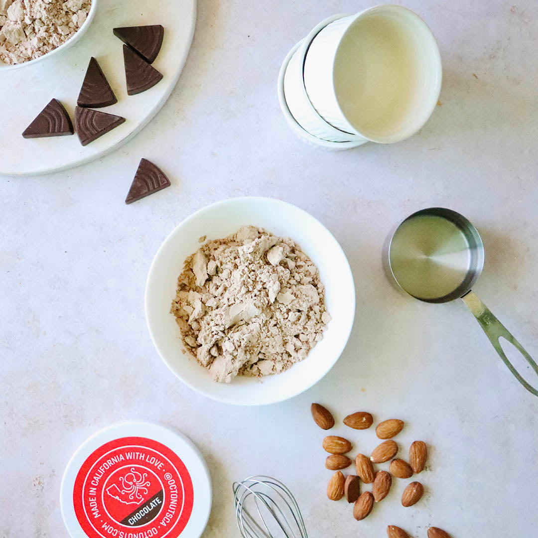 Almond Butter Hack with Octonuts Almond Protein Powders
