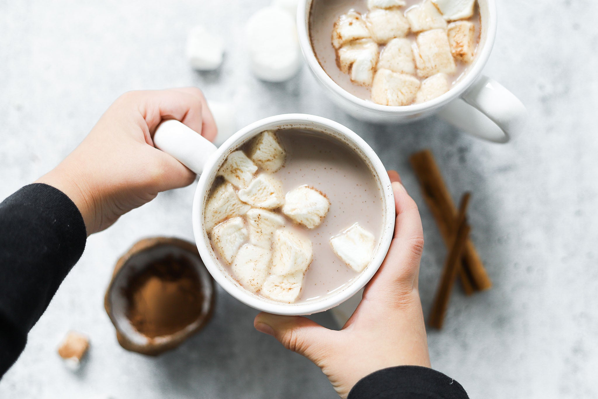 Creamy Protein Hot Chocolate