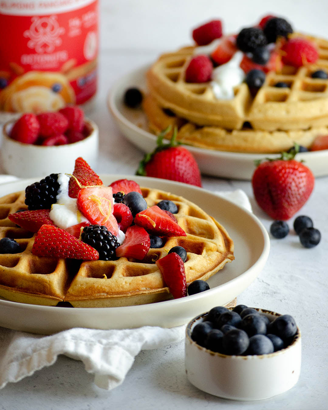 Octonuts Almond Protein Pancake & Waffle Mix