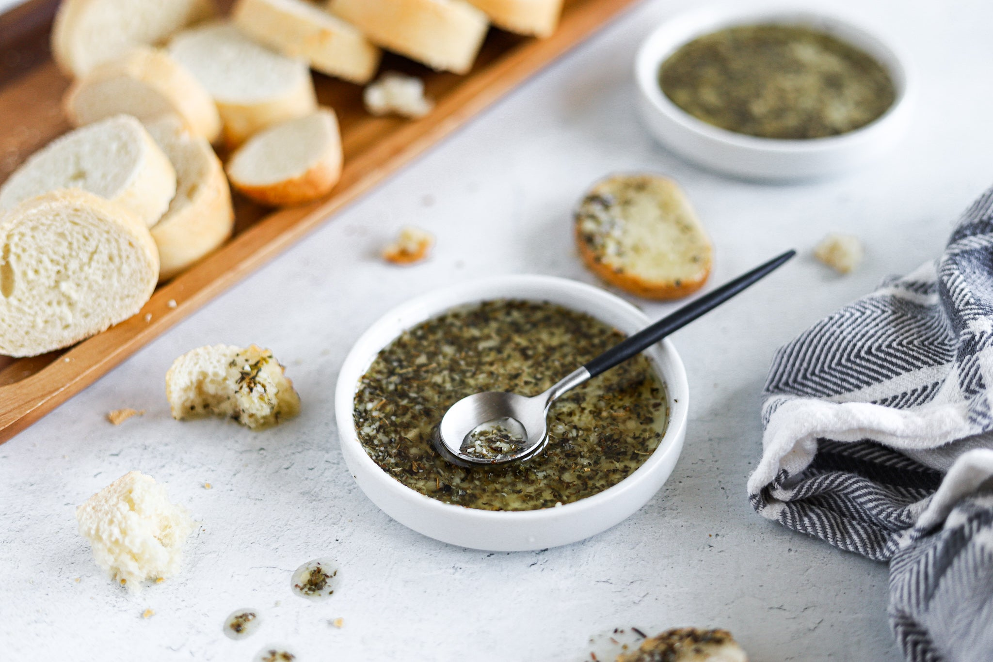 Herb Dipping Oil for Bread