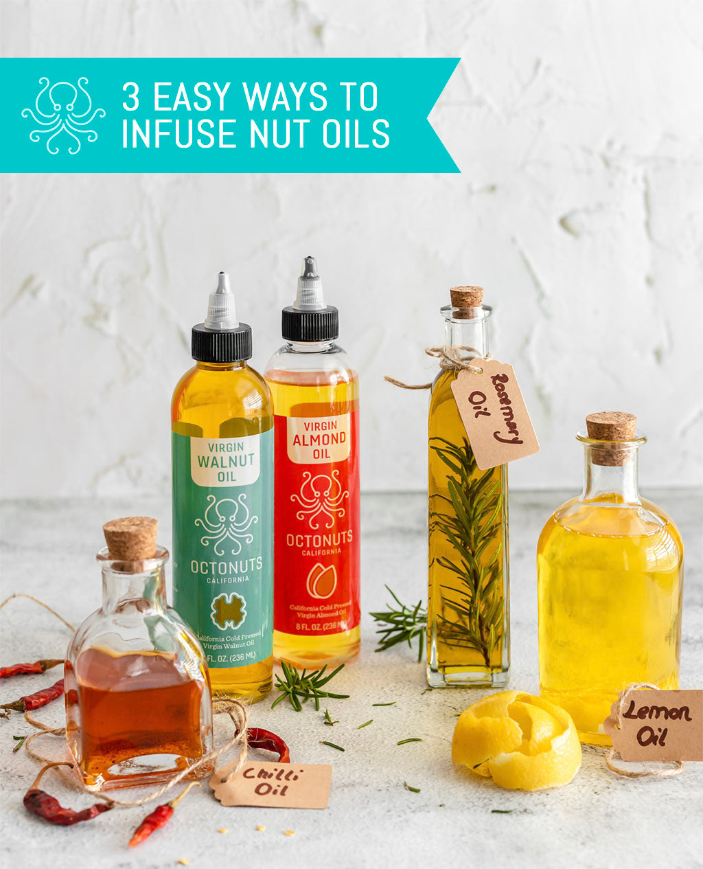 3 Easy Ways to Infuse Nut Oils