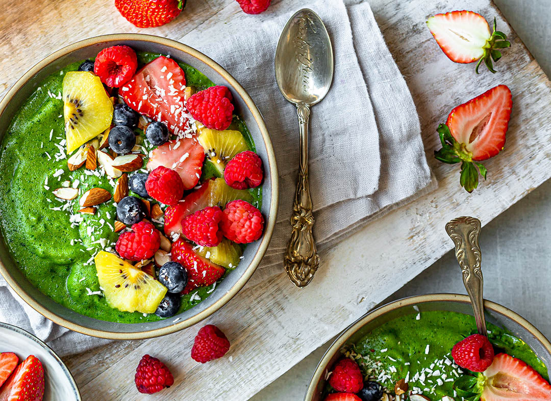 Octonuts Green Protein Smoothie Bowl